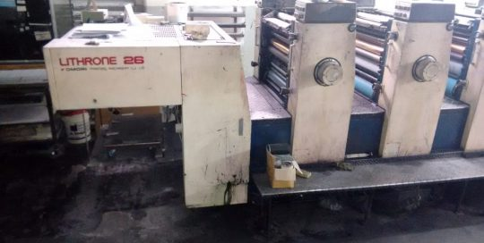 Komori Lithrone 426 2