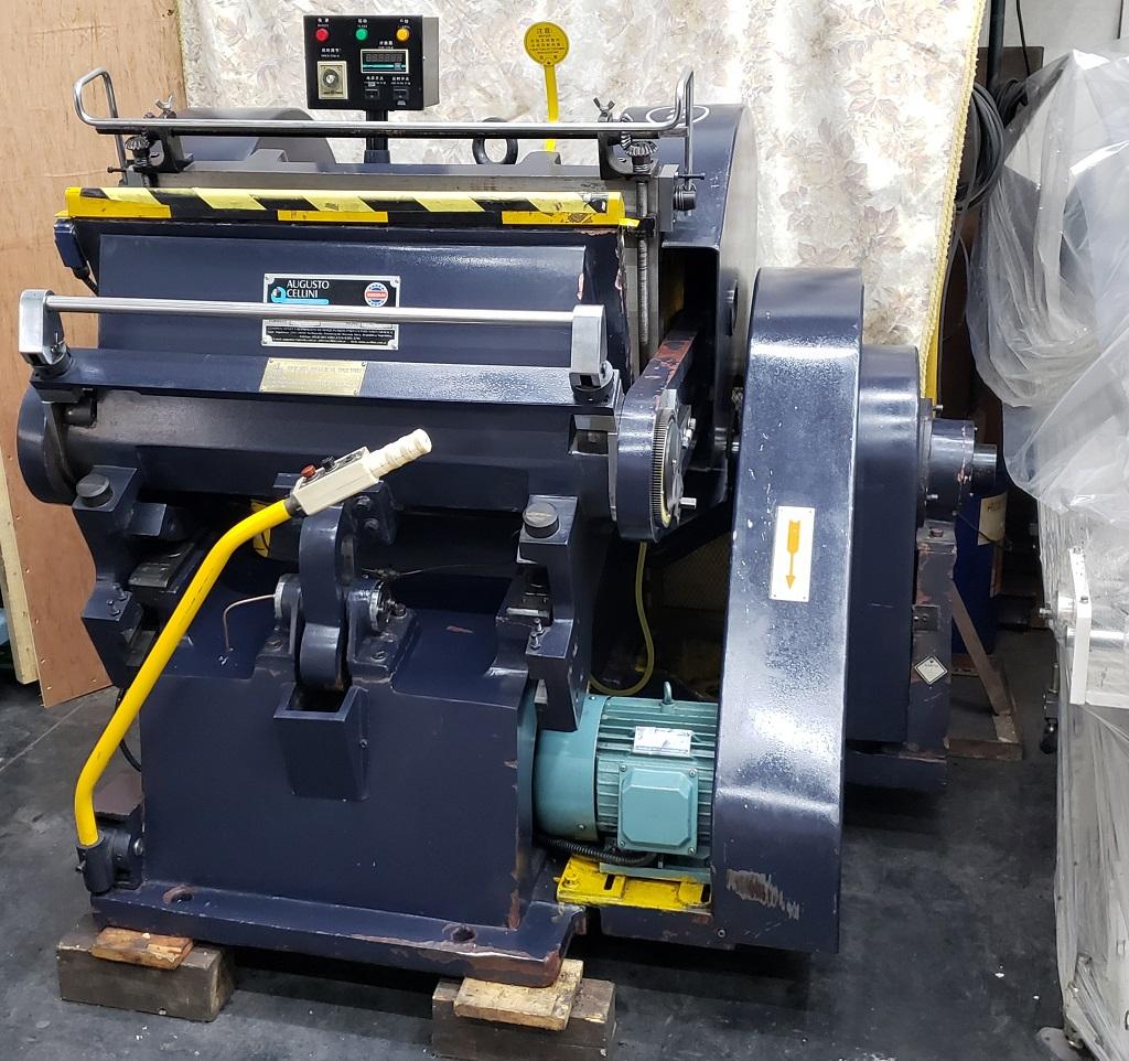 Troqueladora manual ML750 3