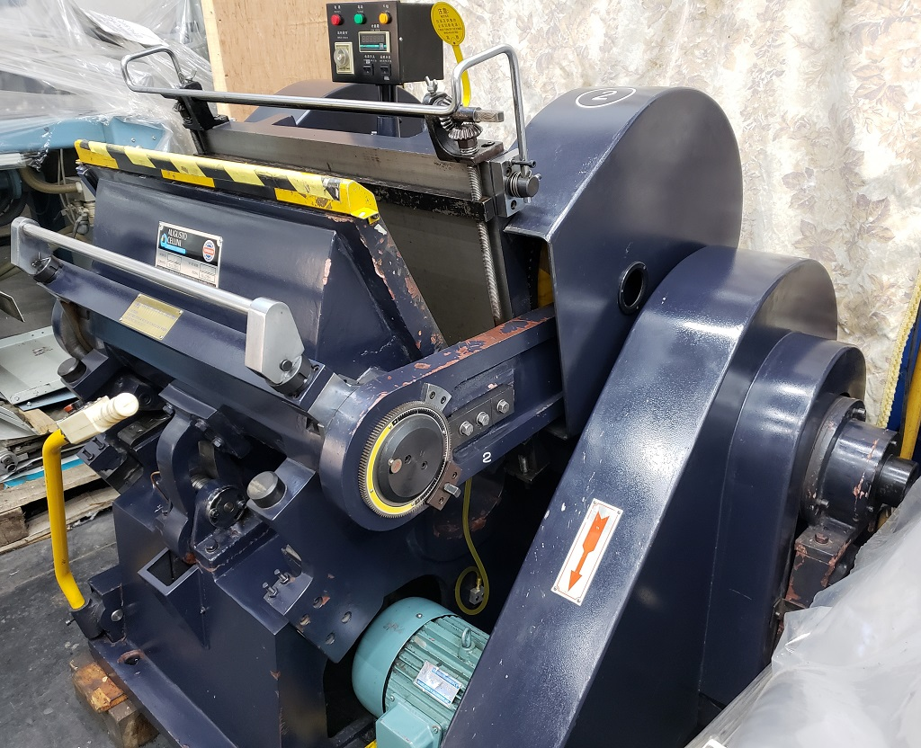 Troqueladora manual ML750 4